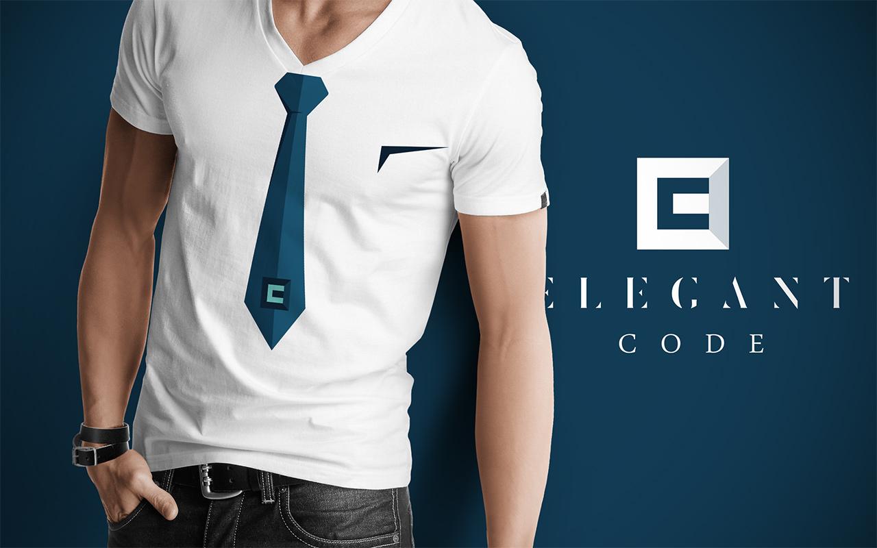 Elegant Code T-shirt Front